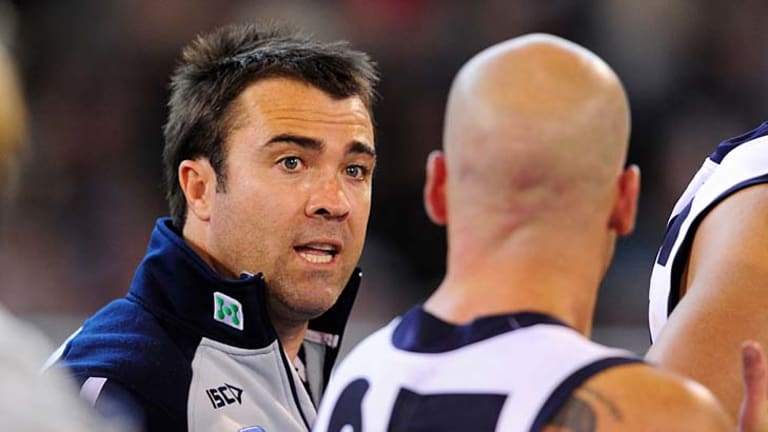 Geelong coach Chris Scott is confident his team can raise its game when needed.