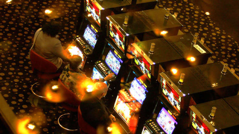 70% of problem gamblers were at risk of depression.