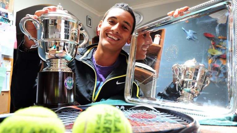 Canberra's teen tennis sensation Nick Kyrgios.