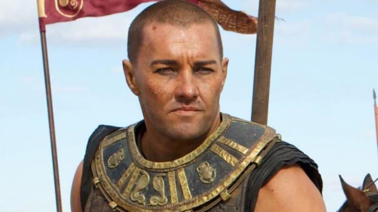 Casting concerns ... Joel Edgerton stars as the Egyptian Pharaoh Ramses in 'Exodus'.