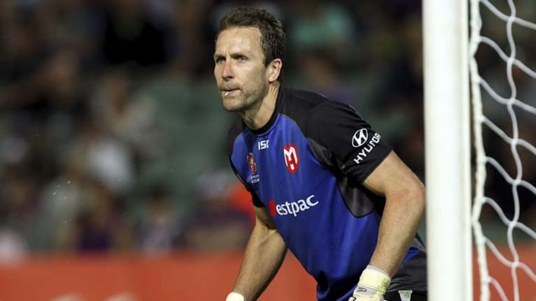Keeper grudge … Clint Bolton lines up for Melbourne Heart against his old club Sydney FC this weekend.