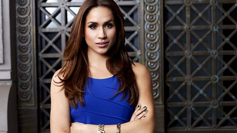 """Born and raised in LA, I grew up on set"" ... Meghan Markle."
