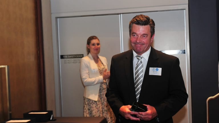 Peter Cursley was announced ACT Local Hero at the 2016 ACT Australian of the Year awards ceremony held in the Gandel Hall at the National Gallery of Australia.