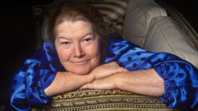 Australian writer Colleen McCullough in 1997.