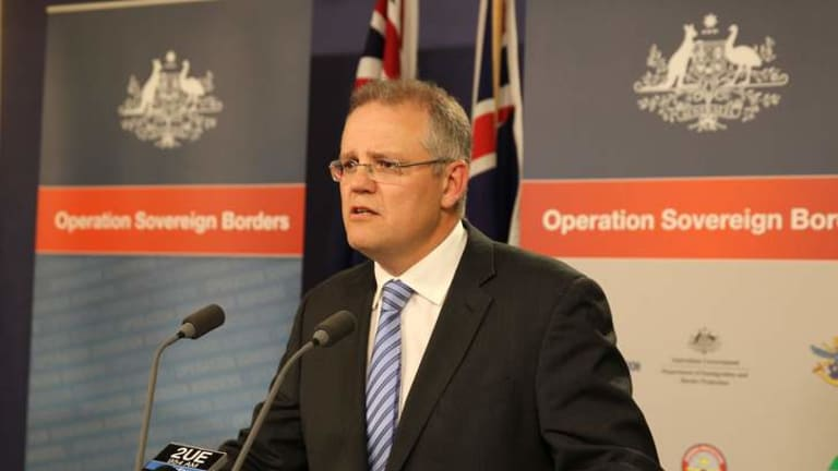 """Suggestions Australian authorities did not respond to this incident appropriately are absolutely and totally wrong"": Immigration Minister Scott Morrison."