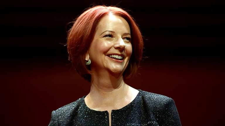 Relationships can come with all sorts of labels: Former prime minister Julia Gillard.