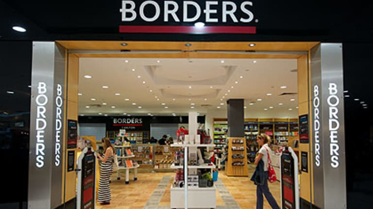 Unhappy eneding ... The Borders bookshop in Carlton.