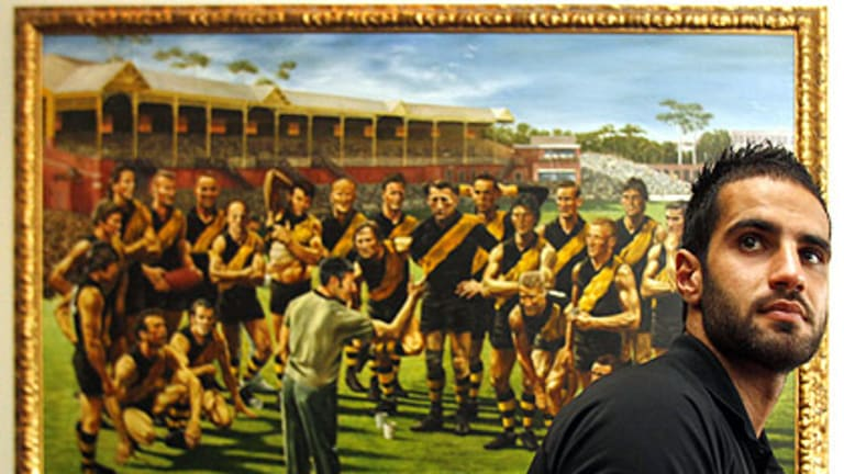 Bachar Houli joined Richmond this week.