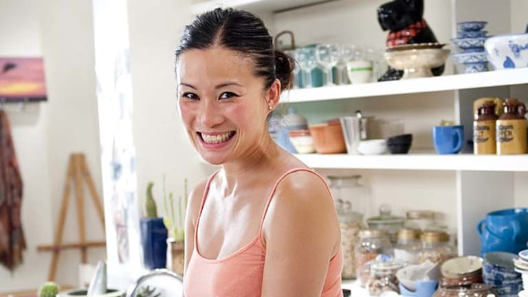 In the running... Poh Ling Yeow, for <i>Poh's Kitchen</i>.