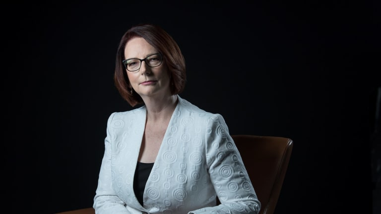 Former prime minister Julia Gillard says she is hopeful of helping make the path for women easier in the future.