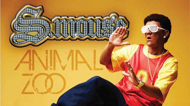 The cover for S.mouse's 'Animal Zoo' single.