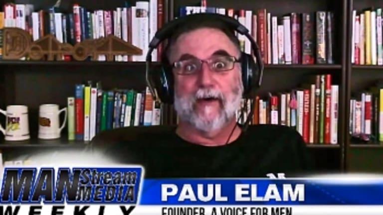 Jaye interviewed the MRA's public face, Paul Elam.