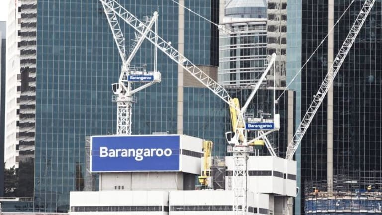 Going up: Part of the Barangaroo agreement remains confidential.