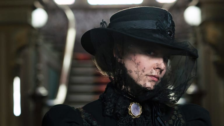 Dark past: The first episode hints that Mrs Appleyard (Natalie Dormer) may not be quite the paragon of virtue she seems.