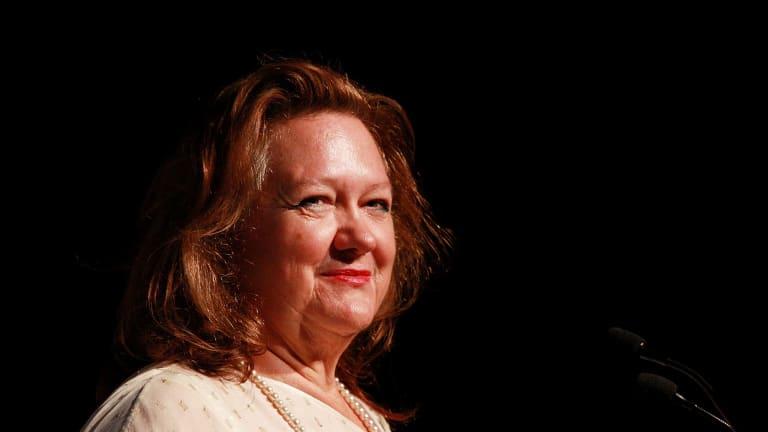 Gina Rinehart's group bid $386.5 million for the Kidman empire.