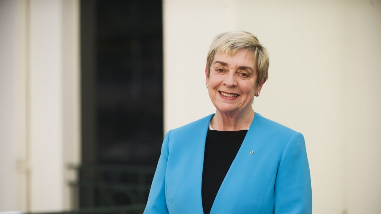 The ACT's first chief minister, Rosemary Follett.