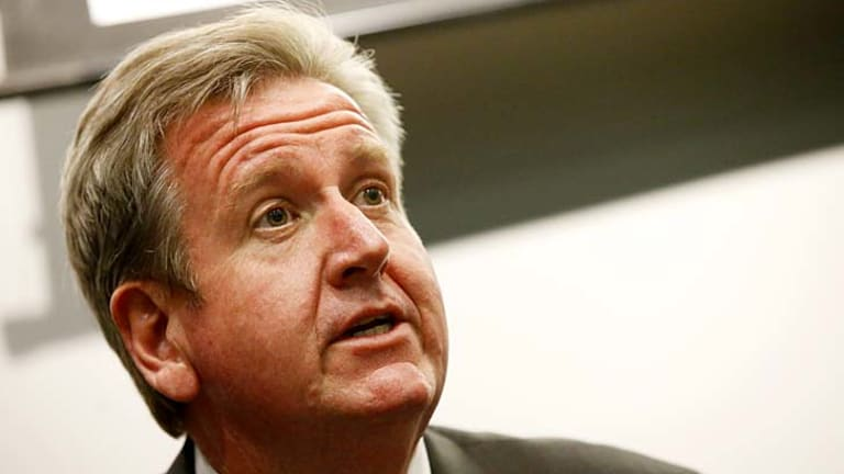 Resistant to a royal comission ... Premier Barry O'Farrell.