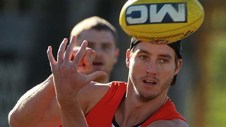 Dale Thomas returns to the Magpie line-up after a frustrating start to his 2012 season.
