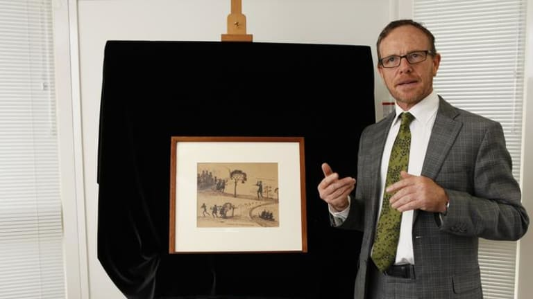 The National Museum of Australia acquires two pen and ink drawings by a nineteenth century Aboriginal artist - Tommy McRae.