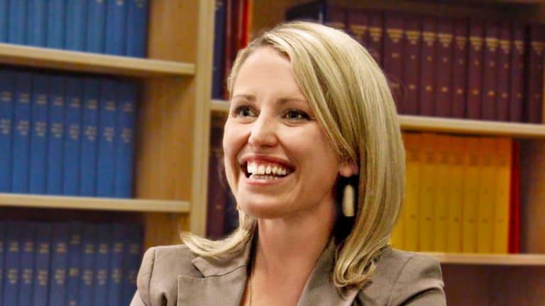 Jennifer Robinson, a member of Julian Assange's legal team.