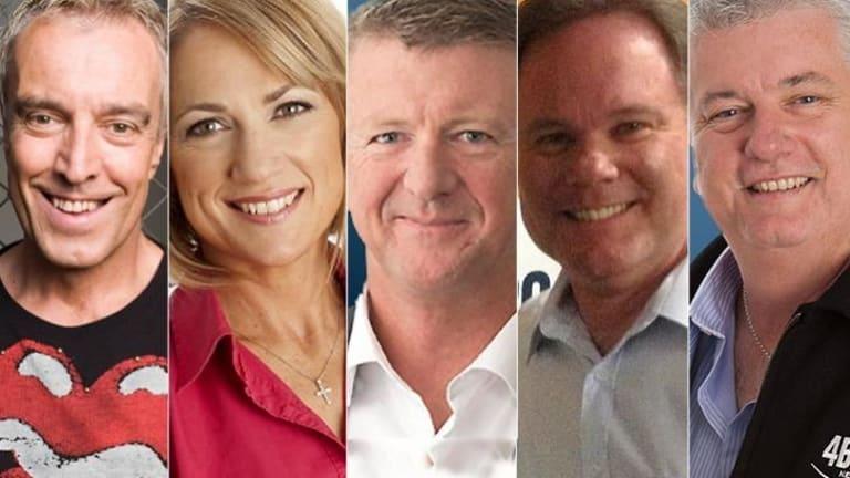 High-profile hosts Ian Skippen, Loretta Ryan, Patrick Condren, Murray Shoring and Walter Williams will no longer be heard on the station.