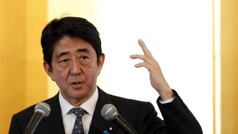 Premier Shinzo Abe has vowed an all-out assault on deflation, going for broke on every front.