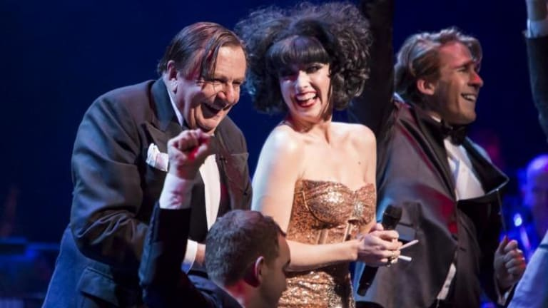 Welcome to Cabaret: Barry Humphries, Meow Meow and Hugh Sheridan on the opening night of the Adelaide Cabaret Festival