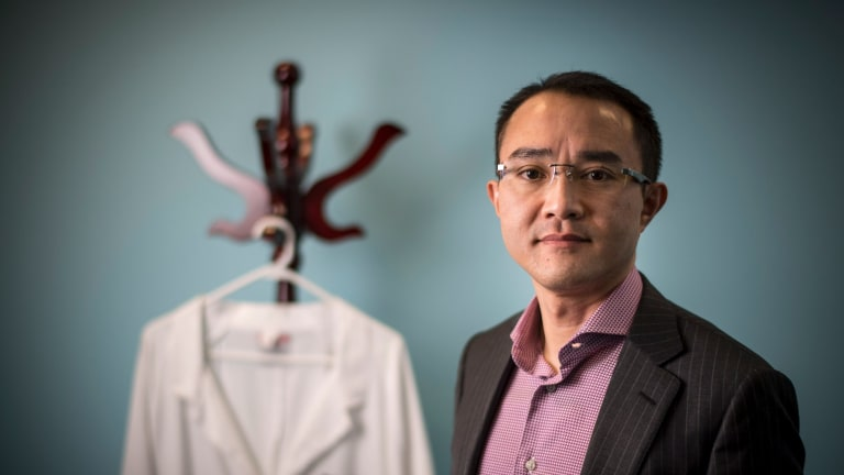 Dr Michael Wong was the victim of an assault three years ago.