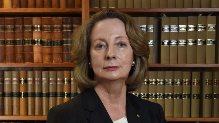 New High Court Chief Justice Susan Kiefel is the first female appointed to the position.