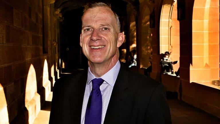 Dr Michael Spence ... breaking records for university philanthropy