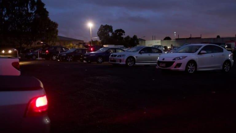 The Coburg Drive-In Cinema.