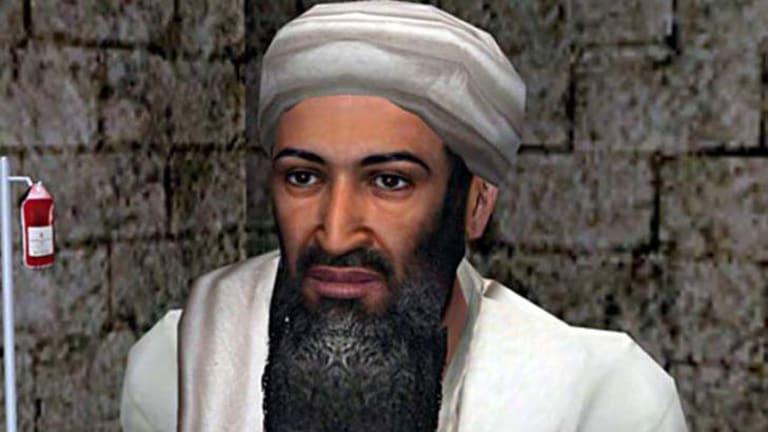 Osama bin Laden as he appears in the latest episode of Kuma Wars.