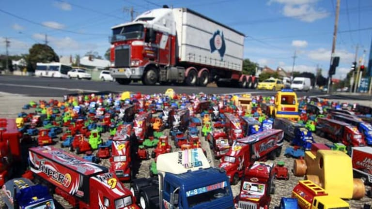 Lobbyists will take their 1000 toy trucks to the steps of Parliament to demand assistance from whoever wins government.