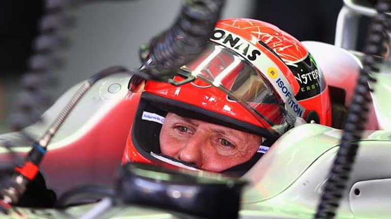 Seven-time Formula One champion: Michael Schumacher.