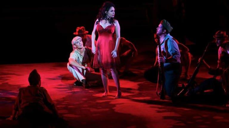 Pleased with result: Opera Australia says $6 million was Carmen's sales target.