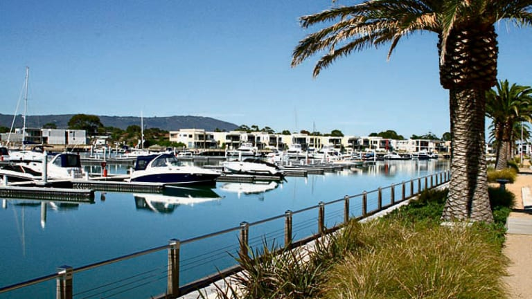 Martha Cove at Safety Beach where an eight-hectare parcel has been sold for $7 million.