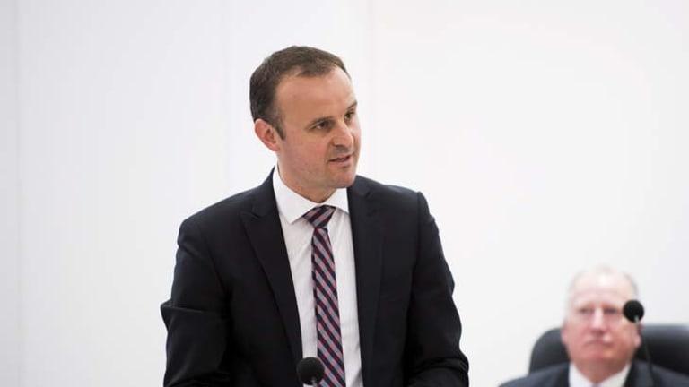 Andrew Barr.