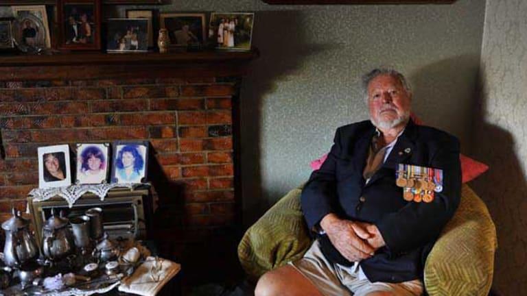 War veteran Murray Inwood.