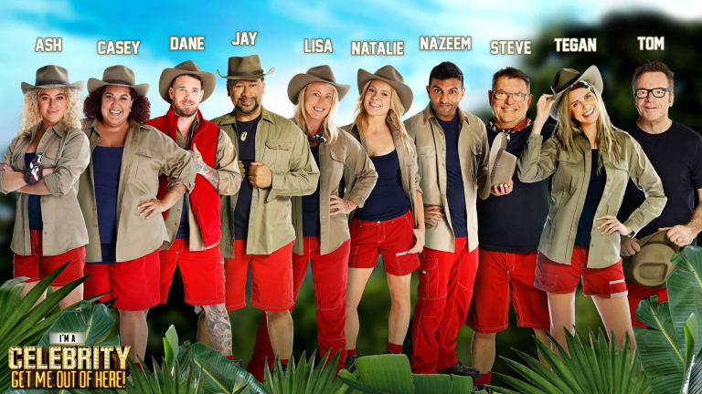 The full cast of I'm A Celebrity Get Me Out of Here Australia 2017.