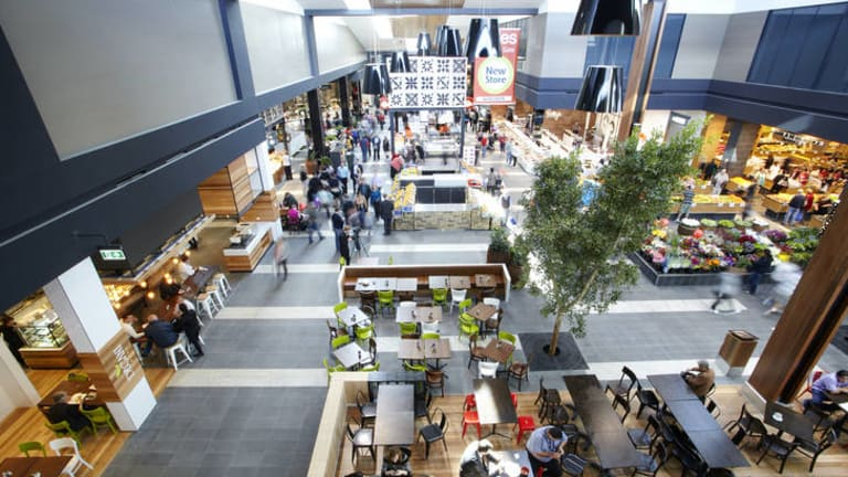 The centre's public areas have timber finishes and more natural light.