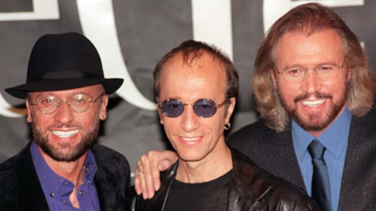 Brothers Gibb ... Maurice, Robin and Barry Gibb.