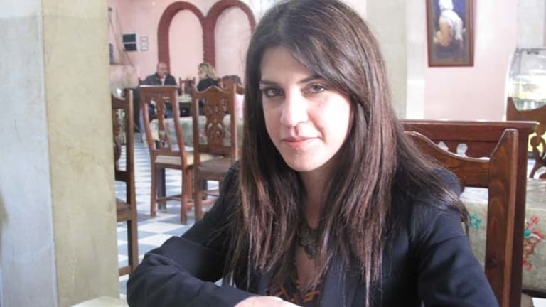 """Lina Ben Mhenni ... """"My illness taught me to be patient and gave me the willingness to  ...  resist."""""""