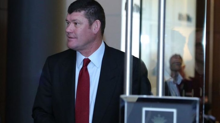 James Packer: Looking to attract wealthy Asian high-rollers to the casino.