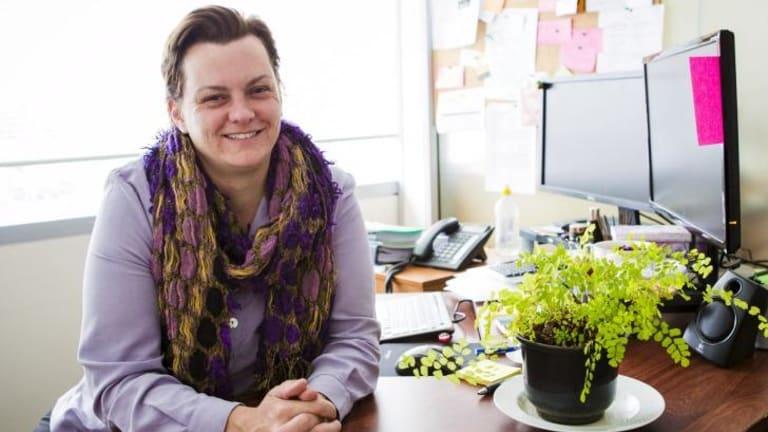 In balance: Samantha Davidson Fuller,  the Executive Officer of Mental Illness Education ACT, has bipolar disorder.