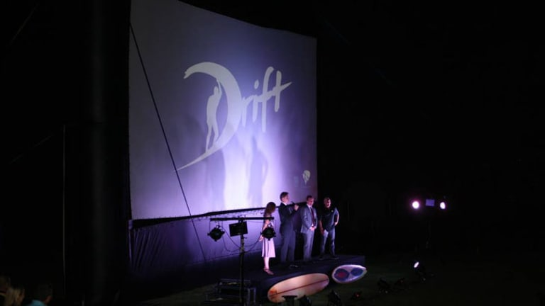 Actors and producers thank everyone involved in the making of <i>Drift</i>.