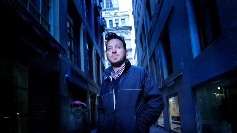 Anthony Magen is conducting evening sound walks through the city during the Melbourne International Jazz Festival.