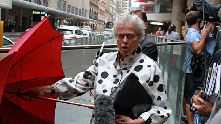 Kerry Schott, the subject of a smear campaign, told the hearing of her warning to AWH chairman Arthur Sinodinos.