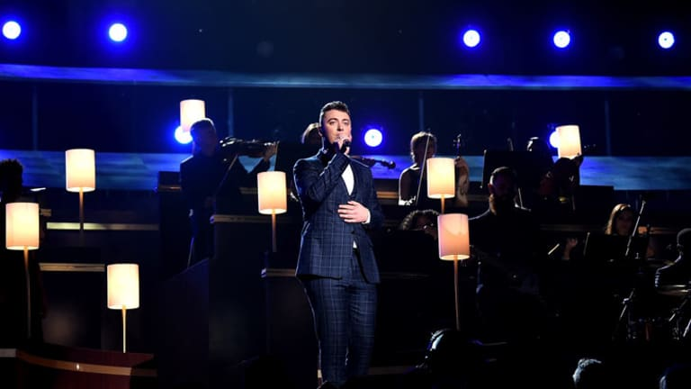 Sam Smith, winner of four Grammys, performs <i>Stay With Me</i>.