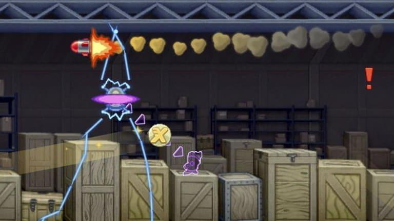A screenshot of the Jetpack Joyride action.