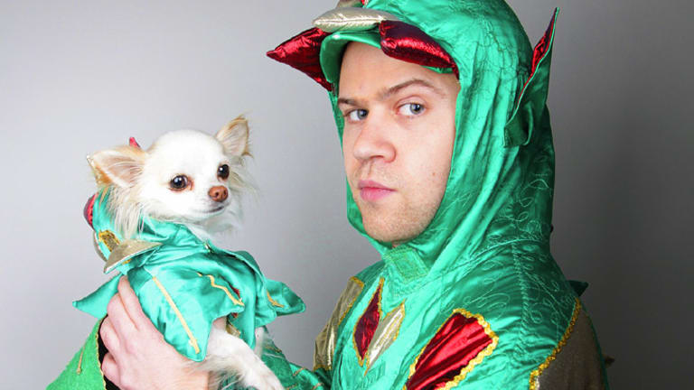 Puff's distant cousin ... Piff the Magic Dragon.